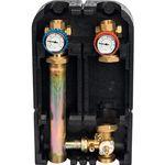 """Насосная группа Stout с 3-х ходовым приводным смесителем 1"""" (без насоса) 29 kW [DT10°C]"""