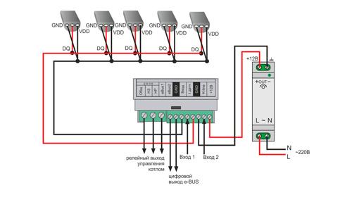 ZONT H-1V eBus GSM термостат для котлов Vaillant и Protherm купить, цена, отзывы, характеристики, официальный магазин